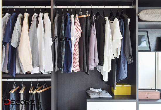 کمد لباس یکی از مهم ترین قسمت های اتاق خواب است.