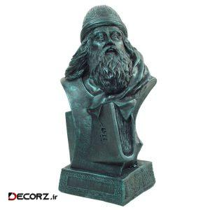مجسمه تندیس و پیکره شهریار مدل سردیس باباطاهر کد M120-4