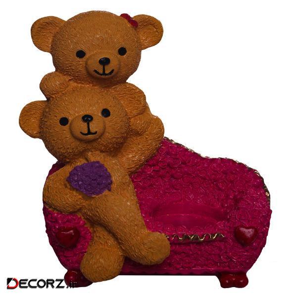 مجسمه لیلپار طرح خرس مدل DGN-0030