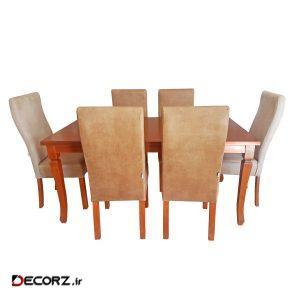 میز و صندلی ناهار خوری چوبکو مدل 646