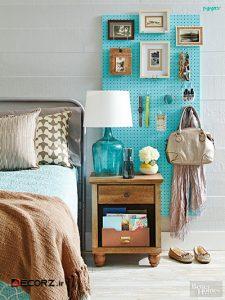 ایده های کاربردی و آسان برای ساماندهی وسایل در اتاق خواب