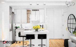 ایده های کاربردی برای دکوراسیون آشپزخانه های کوچک