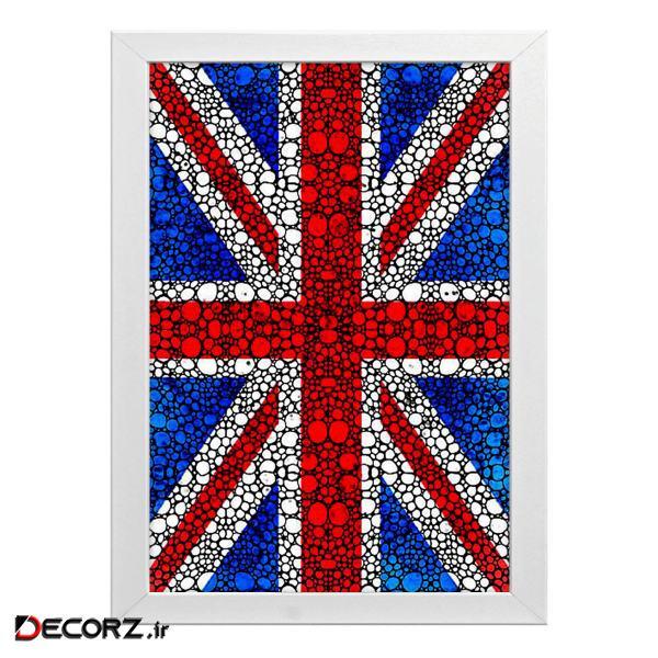 تابلو طرح پرچم کشور انگلیس کد t1001
