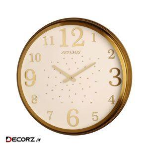ساعت دیواری آرتمیس مدل TIK بزرگ  کد B904-DLT