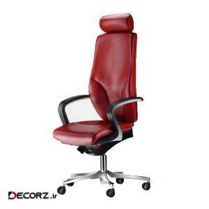 صندلی اداری رایانه صنعت مدل Kasra M911 چرمی