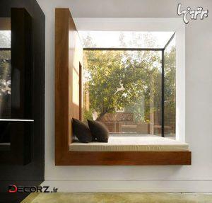 ایده های دکوراسیون پنجره های شاه نشین برای خانه های مدرن