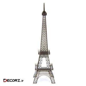 آباژور رومیزی کارا دیزاین طرح برج ایفل سایز 60 سانتی متر