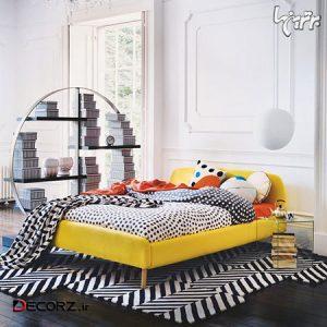 ایده های رنگی برای دکوراسیون اتاق خواب