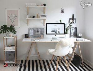 ایده های تاثیرگذار برای دکوراسیون محل کار در خانه