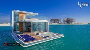 خانههای زیبا و زیر آب دوبی با چشم انداز استثنایی