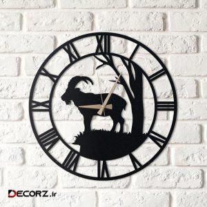ساعت دیواری آتینو طرح Goat