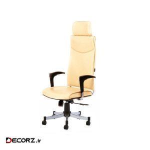 صندلی اداری رایانه صنعت مدل Classic M912 چرمی