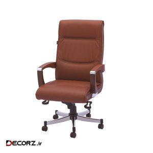 صندلی اداری رایانه صنعت مدل M901 چرمی