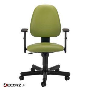 صندلی اداری نیلپر مدل SK504f چرمی