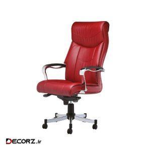 صندلی اداری چرمی رایانه صنعت مدل Silver M913