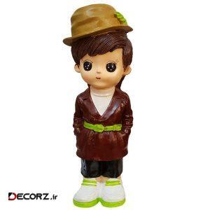 مجسمه لیلپار طرح پسر خوش لباس مدل HOA-1092