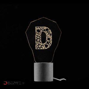 چراغ خواب دکوراتیو پلاس مدلAC-004