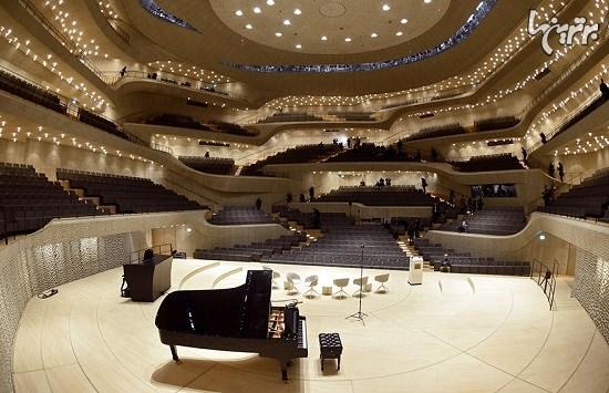 سالن کنسرتی که توسط الگوریتمها طراحی شده است