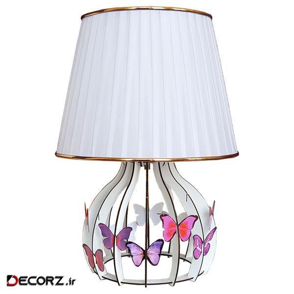آباژور رومیزی مدل پروانه