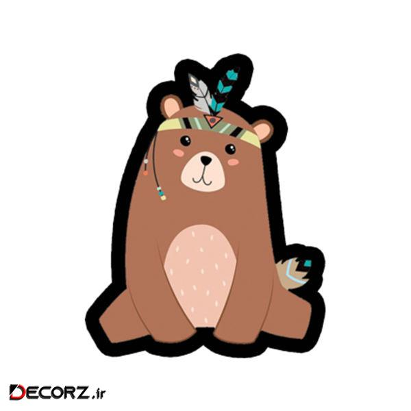 استیکر طرح خرس کد 1723