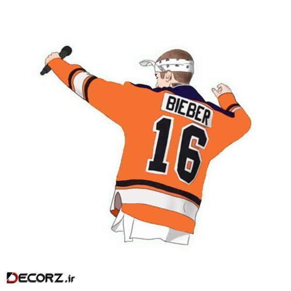 استیکر طرح Bieber کد 1719
