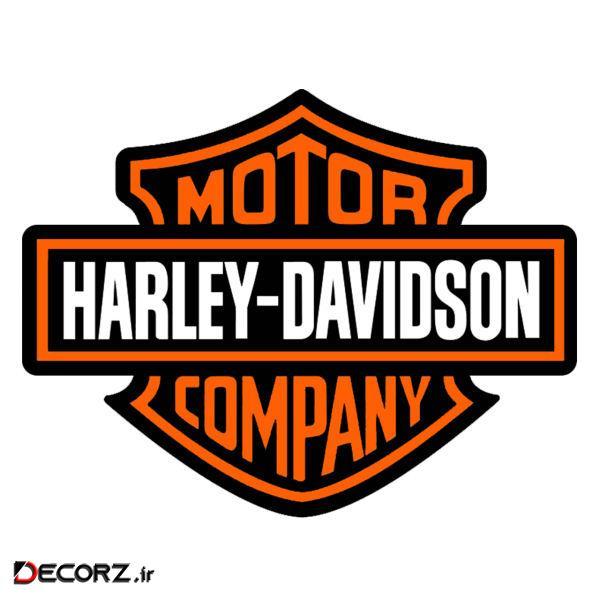 استیکر طرح Harley کد 1717