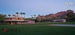 خانهای که فرانک لوید رایت برای پسرش طراحی کرد