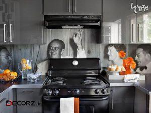 تزئین دیوارها برای دکوراسیون آشپزخانه