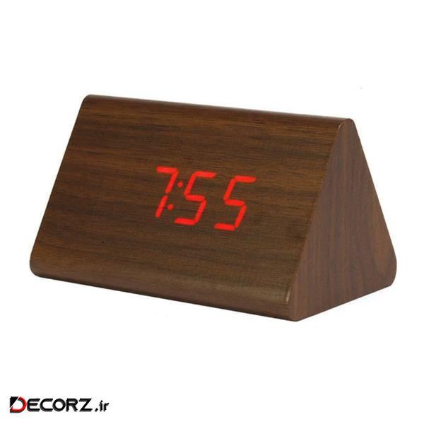ساعت رومیزی کیمیت مدل Woody B1368Red