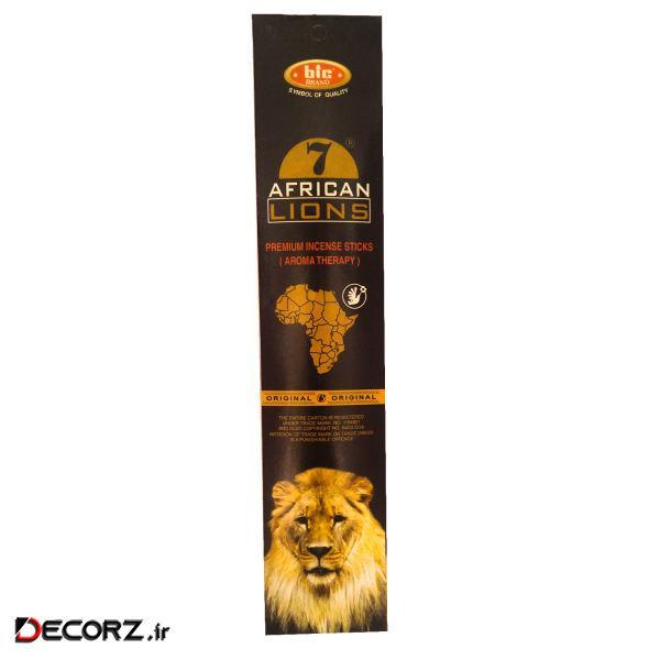 عود بیک مدل AFRICAN LIOLNS کد 77