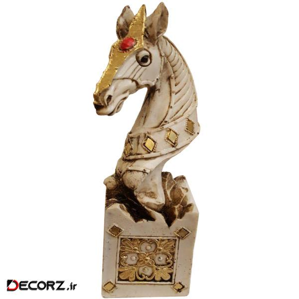 مجسمه لیلپار طرح اسب شاخدار مدل DKA-6031