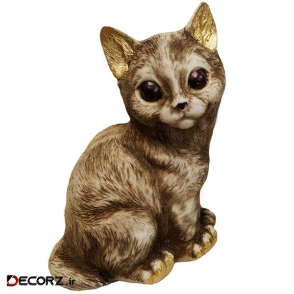 مجسمه لیلپار طرح گربه مدل DKA-6024