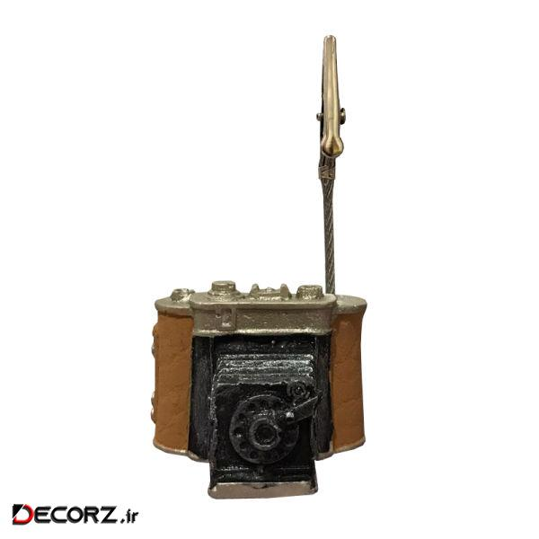 پایه نگهدارنده عکس طرح دوربین
