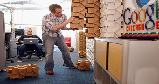 تصاویری دیدنی از محیط کاری کارکنان گوگل در سراسر دنیا