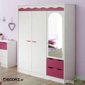 مدلهای جدید کمد بچه با فضای زیاد مناسب اتاقهای کوچک و کمجا