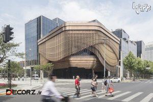 نمای متحرک مرکز تجاری بوند در شانگهای