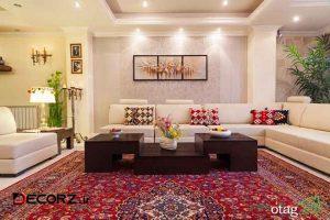 تاثیر انتخاب یک فرش زیبا متناسب با دکوراسیون داخلی
