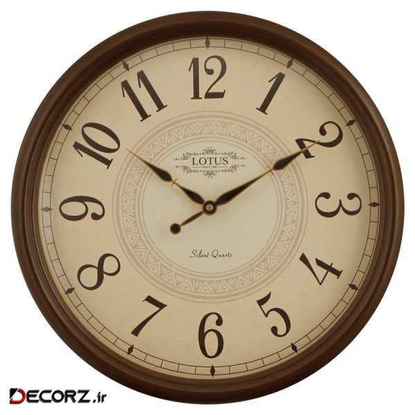 ساعت دیواری لوتوس مدل HERNANDO کد 356