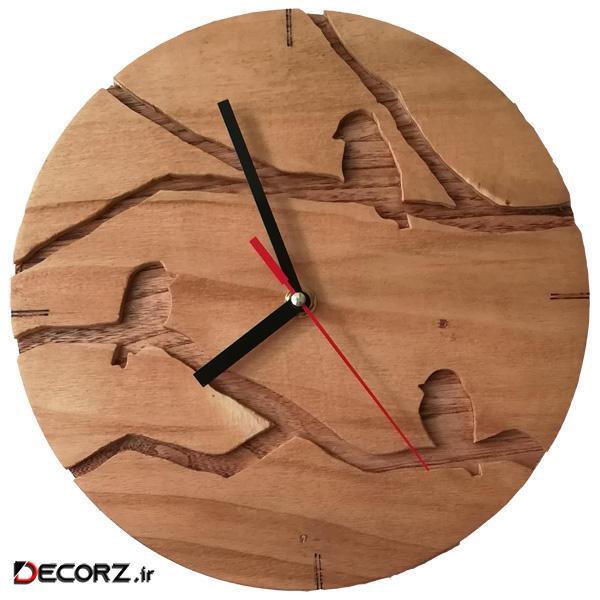 ساعت دیواری مدل گنجشک
