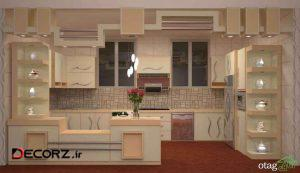 طراحی آشپزخانه مدرن و بهره مندی از کابینت های ممبران و سایر عوامل در خلق دیزاین برتر منزل خویش