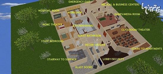پناهگاهی که در مقابل انفجار هسته ای مقاوم است!