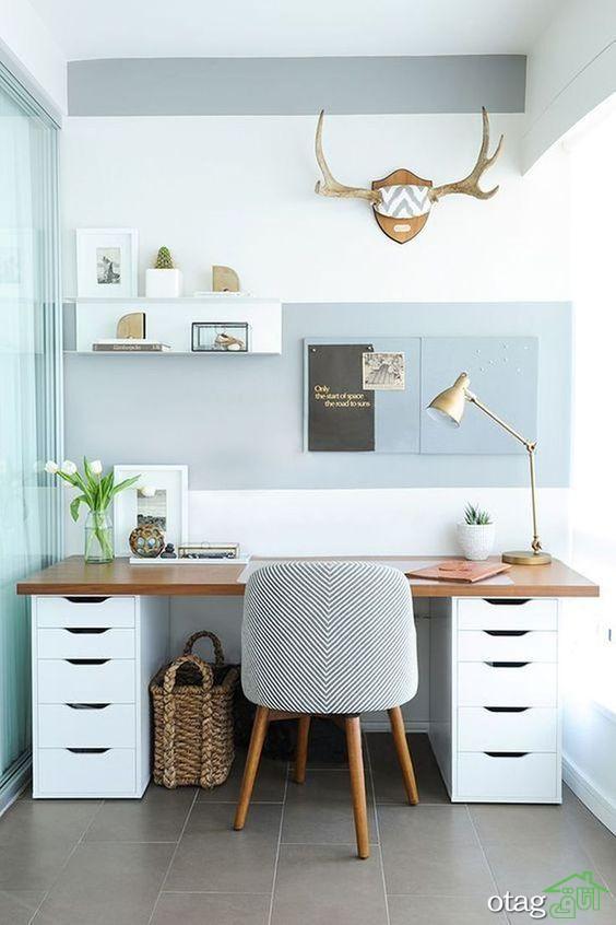 طراحی و دکوراسیون دفتر کار با حس و حال یک خانه
