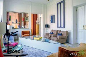 ایده های رنگ سبز نعنایی برای اتاق نشیمن مدل های سال 1400