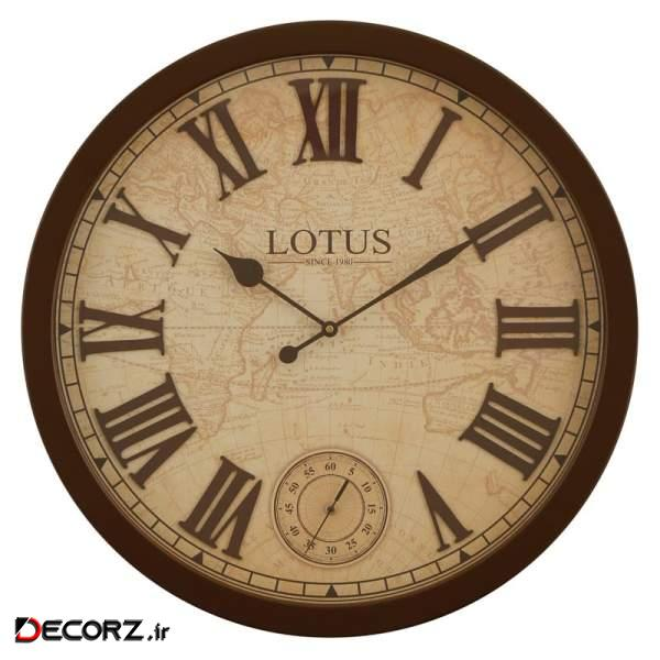ساعت دیواری لوتوس کد W-8838