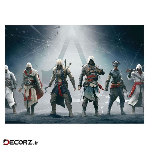 پوستر طرح اساسین کد 1247 -Assassin