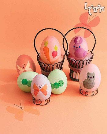 هفت سین تان را با این تخم مرغ های رنگی زیباتر کنید