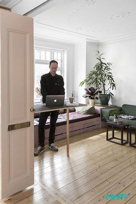 بازسازی خانه ای دوبلکس در دانمارک