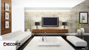 آشنایی با طراحی تی وی روم، مینیمالیست و مدرن