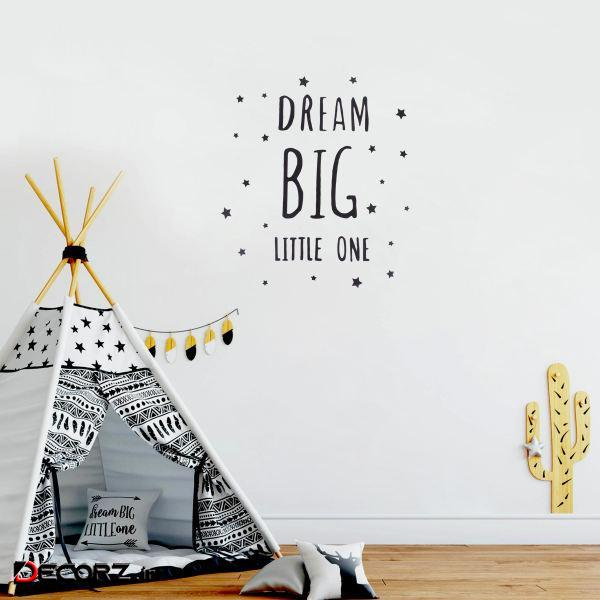 استیکر طرح رویای بزرگ مجموعه 38 عددی