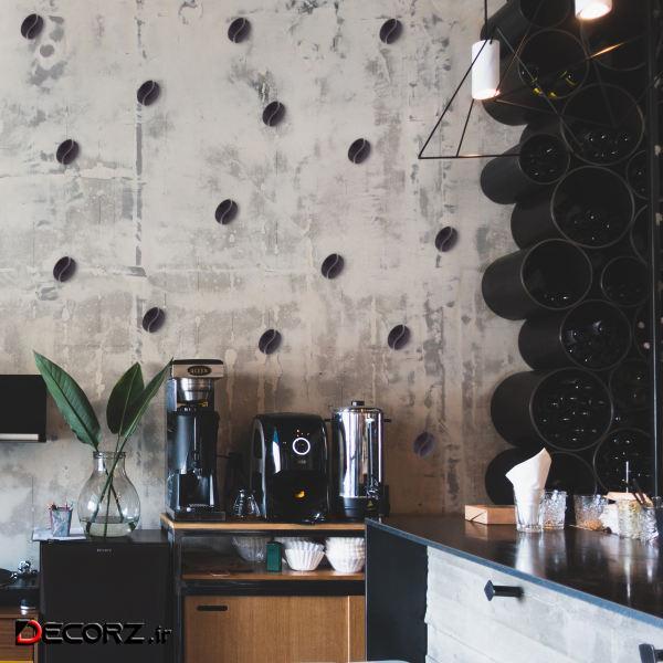 استیکر طرح قهوه کد 4122 بسته 16 عددی
